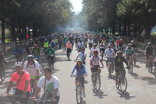 El recorrido comenzó temprano este domingo 20 de septiembre.  (Foto: Alejandro Balán/Soy502)