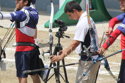 Diego Castro se llevó la medalla de oro en arco recurvo, en el Ranquin Mundial que se realiza en Guatemala. (Foto: Luis Barrios/Soy502)