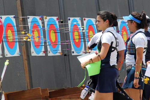 Regina Romero es una de las tiradoras sobresalientes en Guatemala. (Foto: Luis Barrios/Soy502)