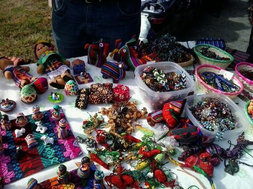 Todos los artículos que se pudieron adquirir representan a la cultura guatemalteca. (Foto: Soy502)