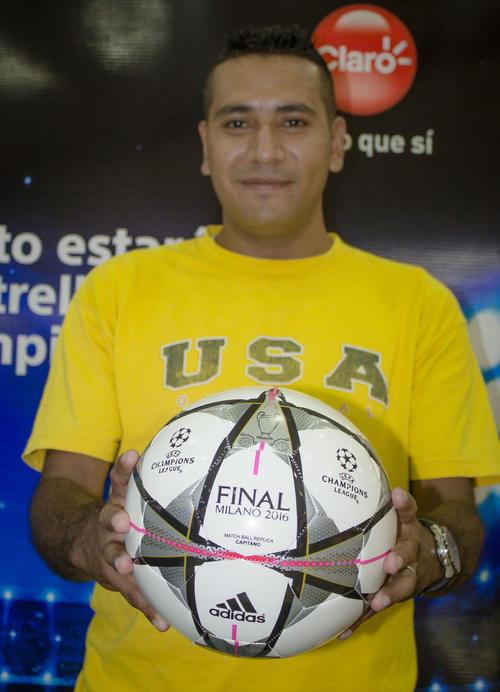 Julio es uno de los ganadores de un pase a la semifinal de la Champions League, Real Madrid vs. Manchester City. (Foto: Soy502)