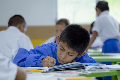 La Escuela Adentro Enrique Castillo Monge es una oportunidad para los niños de acceder a una educación integral. (Foto: George Rojas/Soy502)