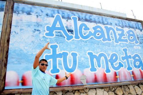El joven nadador guatemalteco, Rubén Granados Amorín, espera seguir bajando sus tiempos y quemar las etapas que lo llevarán a cumplir la promesa que le hizo a su abuelo: clasificarse a unos Juegos Olímpicos. (Foto: Luis Barrios/Soy502)
