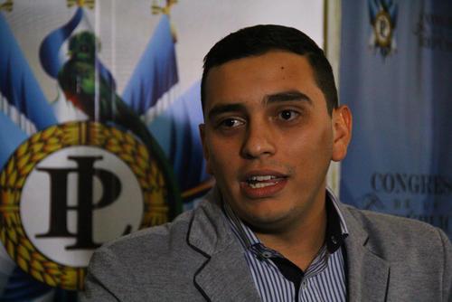 Juan Manuel Giordano continuará siendo el diputado más joven. (Foto: Archivo/Soy502)