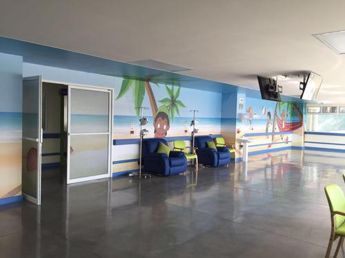 Los interiores de AYUVI Occidente han sido diseñados para brindar comodidad y calidad a los niños. (Foto: cortesía Cementos Progreso)