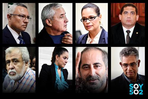 Más de 30 personas están siendo procesadas por el caso La Línea. (Foto: Archivo/Soy502)