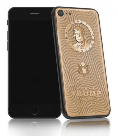 Este es el nuevo dispositivo móvil del recién presidente electo de Estados Unidos. (Imagen: Infobae)