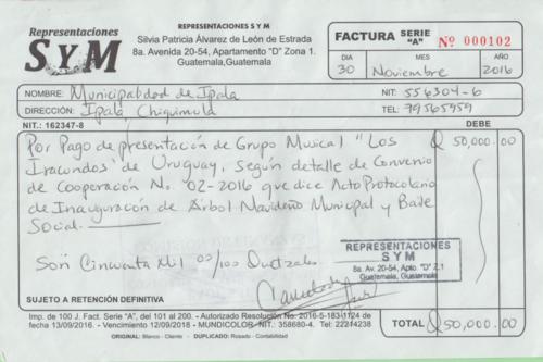 """La presentación de """"Los Iracundos"""" fue pagada con fondos públicos. (Foto: José Miguel Castañeda/Soy502)"""