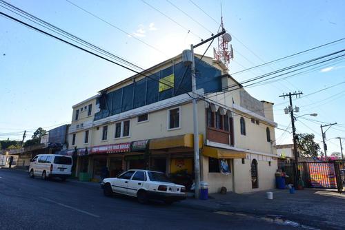 Los apartamentos están ubicados en la 13 calle A 2-94 de la zona 2. (Foto: Jesús Alfonso/Soy502)