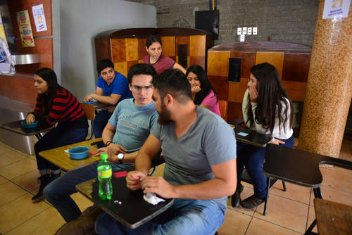 Además se celebró un bingo. (Foto: Jesús Alfonso/Soy502)