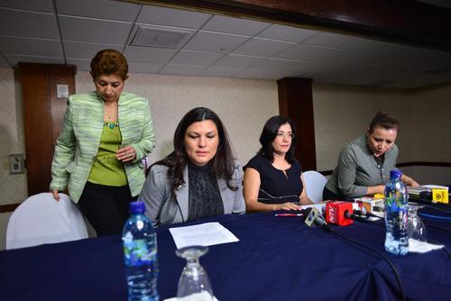 El domingo 5 de octubre de 2014 Claudia Escobar renunció a su magistratura, denunciando vicios en el proceso que atentan contra la independencia judicial. (Foto: Jesús Alfonso/Soy502).
