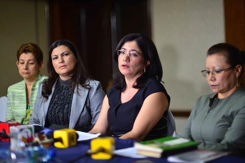 Varias juezas que apoyaron a la exmagistrada Claudia Escobar denunciaron trasladados. (Foto: Archivo/Soy502)