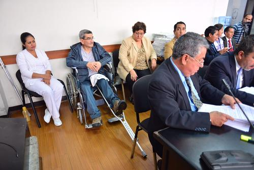 José Mauricio Rodríguez Sánchez, el otro sindicado por genocidio, estuvo en las primeras horas de la audiencia, pero por la tarde se retiró y fue representado por su abogado. (Foto: Jesús Alfonso/Soy502)