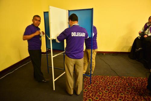 La votación fue secreta. (Foto: Jesús Alfonso/Soy502)