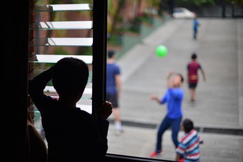 Manuelito, a sus siete años, es uno de los niños que llegó, según las estadísticas del CNA, a la edad en la que será más difícil encontrar una familia que quiera adoptarlo. (Foto: Jesús Alfonso/Soy502)