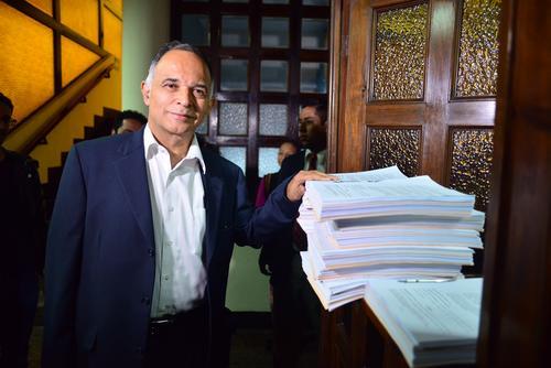 Alfonso Carrillo presentó el recurso a título personal. (Foto: Jesús Alfonso/Soy502)