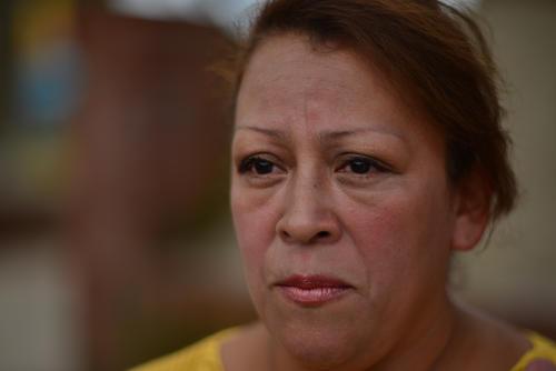 Flor de María Cuyuch perdió en la tragedia a sus dos hijos varones y su madre. (Foto: Jesús Alfonso/Soy502)