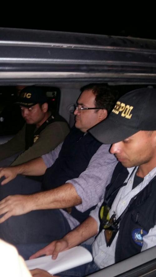 Javier Duarte fue arrestado en la recepción de un hotel en Panajachel. (Foto: PNC)