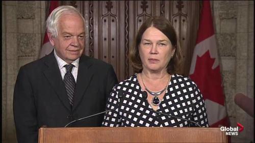 La noticia fue dada a conocer por los ministros de Sanidad, Jane Philpott, y de Inmigración, John McCallum. (Foto: globalnews.ca)