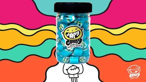 """""""Mora azul"""" es uno de los sabores más famosos de Japy Candy. (Foto: Japy Candy oficial)"""