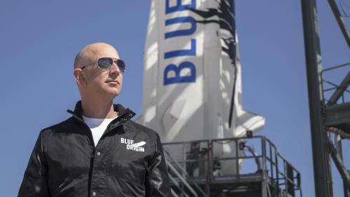 Jeff Bezos, el fundador de Amazon, propietario del Washington Post y de la empresa Blue Orbit. (Foto: Blue Origin)