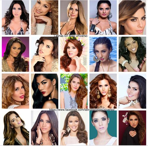 Estas son las Latinas que participan en Miss Universo. (Foto: Jeimmy Aburto)
