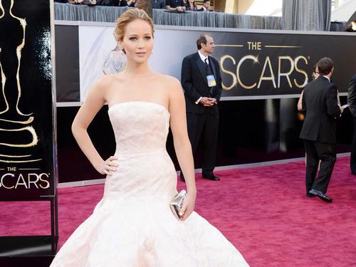 Con tan solo 23 años, Jennifer Lawrence suma su tercera nominación.