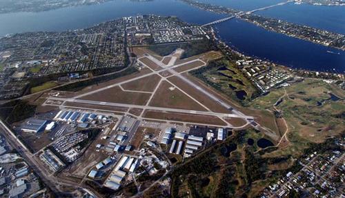 El aeropuerto usado por Rais, al norte de Miami. (Foto: Revista Factum)