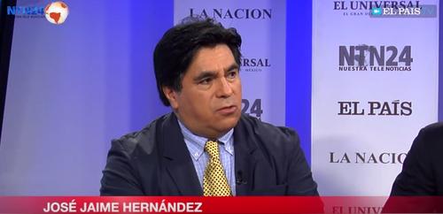 Periodista mexicano José Jaime Hernández. (Foto: El País)