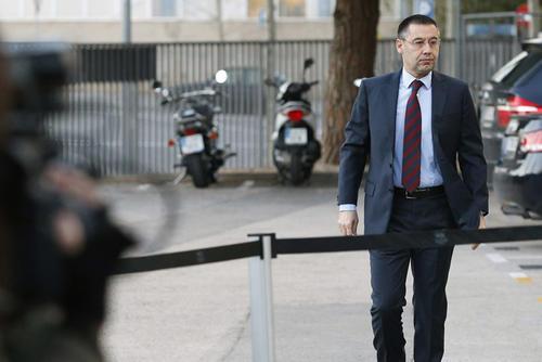 El nuevo presidente del Barcelona ocupaba hasta ayer el cargo de Vicepresidente Primero del club catalán. (Foto: Alejandro García/EFE)