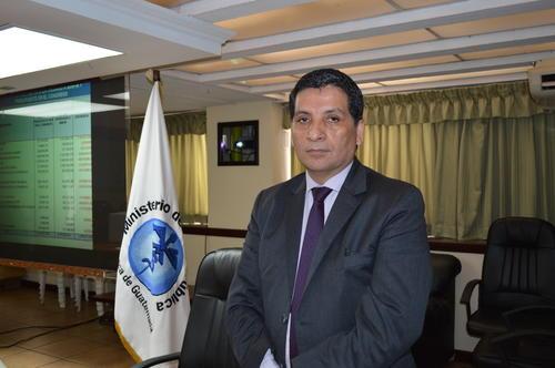 El doctor Juan Antonio Villeda espera ser juramentado en su nuevo cargo de viceministro. (Foto: MSPAS)