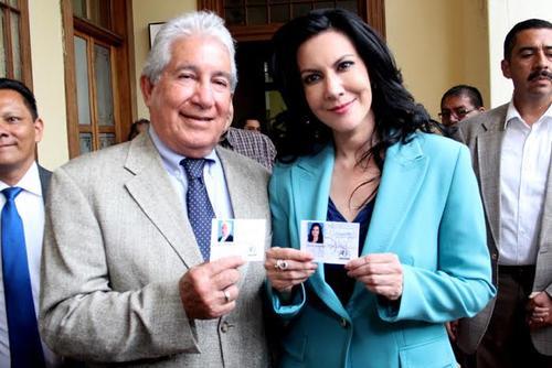 Es la pareja de fórmula de Zury Ríos del partido Visión con Valores.  (Foto: Archivo/Soy502)
