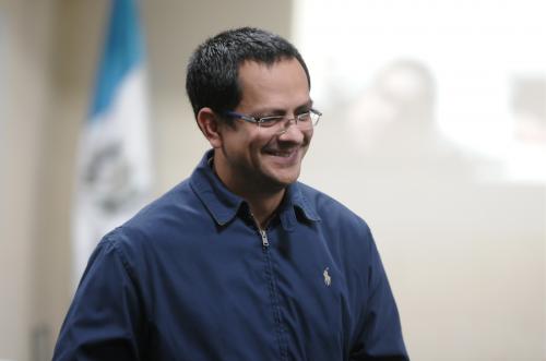 Juan Pablo Muralles está sindicado en el caso Negociantes de la Salud como supuesto operador de la estructura. (Foto: Jesús Alfonso/Soy502)