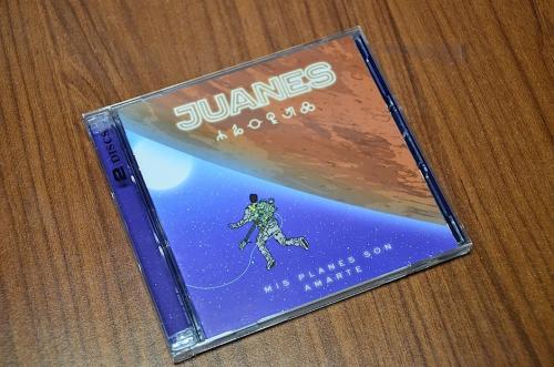 """Esta es la portada de """"Mis planes son amarte"""" de Juanes. (Foto: Selene Mejía/Soy502)"""