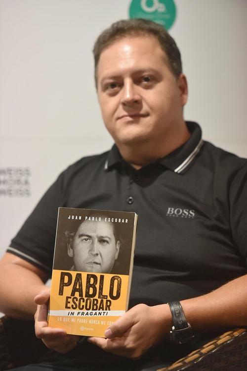 """Juan Pablo durante la presentación de su libro """"Lo que mi padre nunca me contó"""". (Foto: Infobae)"""