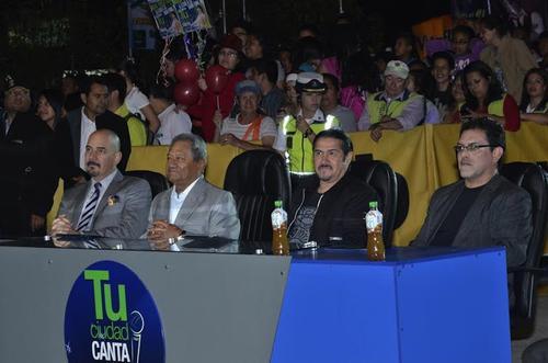 El jurado calificador se formó por personalidades de la música nacional e internacional. (Foto: Abner Salguero/Nuestro Diario)