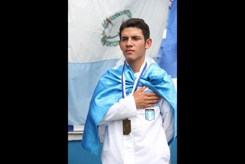 Jurgën Grave de Quiché fue el ganador de la prueba de los 10 kilómetros. Foto Luis Barrios/Soy502