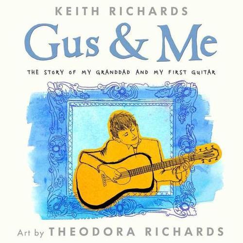 La portada del libro infantil de Keith Richards fue hecha por la hija del músico, Theodora Richards.