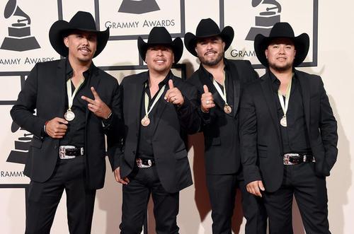 La maquinaria norteña en los Grammy Awards 2016. (Foto: Steve Granitz/Wirelmage)