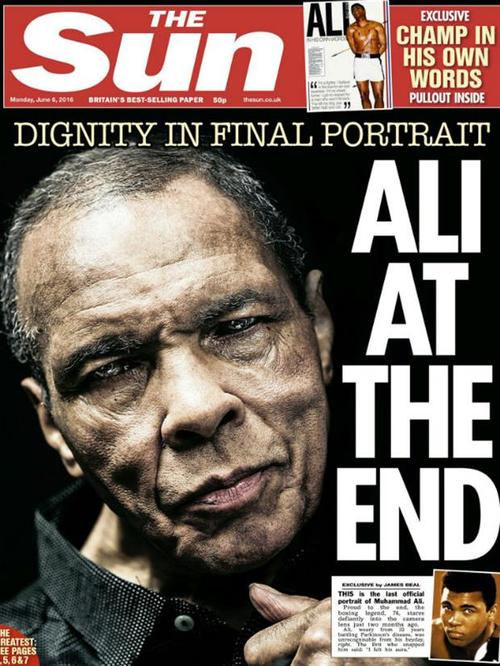 Esta es la portada del periódico inglés, que saldrá este lunes.