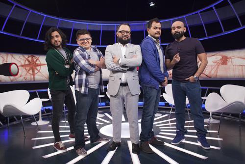 """""""La culpa es de cortés"""", espacio de comedia espontánea que se transmite por Comedy Central ha cautivado al público de Latinoamérica. (Foto: cortesía Viacom)"""