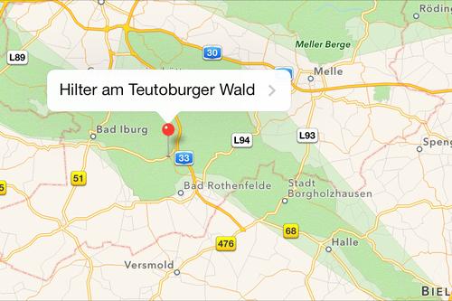 La montaña de Baviera en Alemania tiene el nombre de Adolf Hitler en Google Maps.