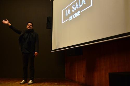 Jayro Bustamante está emocionado por este espacio, que da la bienvenida al cine de autor. (Foto: Jesús Alfonso/Soy502)