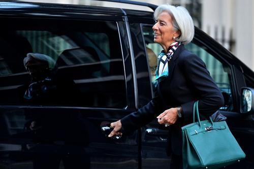 Durante su visita a Estados Unidos, Hollande también sostendrá una reunión con Christine Lagarde, la directora del Fondo Monetario Internacional, así como con el presidente del Banco Mundial Jim Yong Kim. (Foto: AFP)