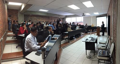 El INE y el Banco Mundial lanzaron el concurso este miércoles en la Universidad Rafael Landívar. (Foto: Banco Mundial)