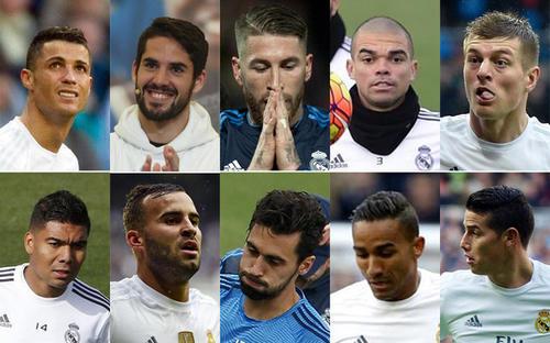 Ellos serían los futbolistas que dejarán al Real Madrid a final de temporada. (Foto: Sport)