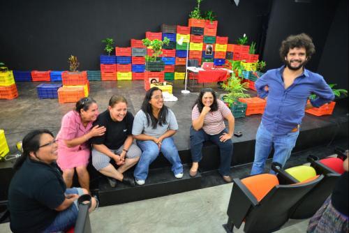 """""""Las poderosas"""" está formada por mujeres que han sufrido violencia intrafamiliar. (Foto: Wilder López/Soy502)"""