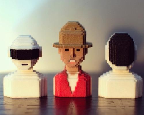 Selfie 3D versión estatua. (Foto: facebook/LEBLOX)
