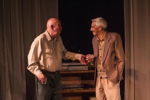 Actores de larga trayectoria forman parte de esta obra teatral. (Foto: Bernardo Euler Coy)