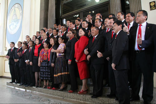 De 45 diputados electos por el partido Lider, solo 6 permanecen en la bancada. (Foto: Archivo/Soy502)